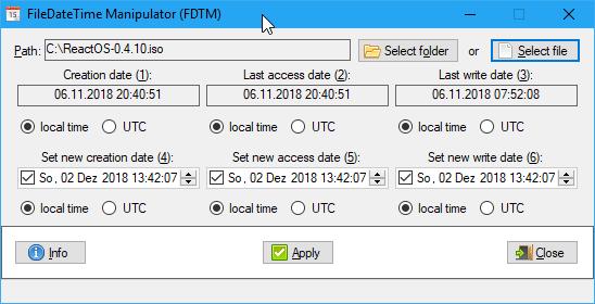 FDTM 1.4.0.5 (Screenshot)
