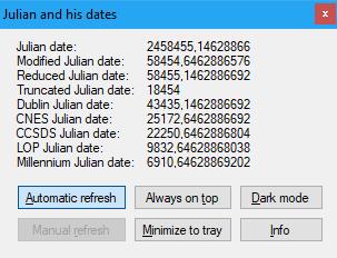 Julian and his dates 1.1.0.2 (Screenshot)
