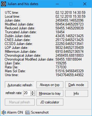 Julian and his dates 1.2.0.3 (Screenshot)