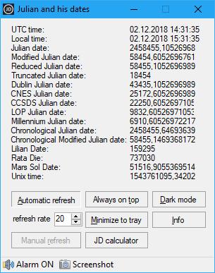 Julian and his dates 1.2.1.4 (Screenshot)