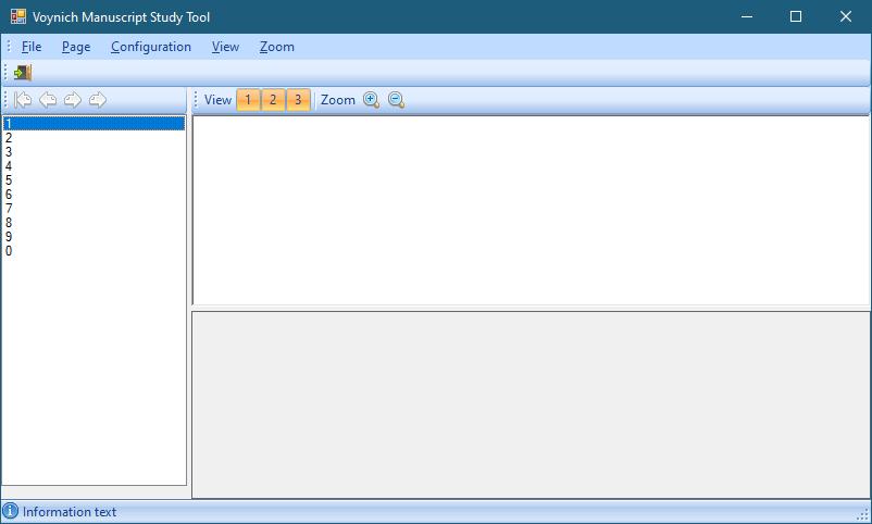 GUI-Entwicklung des Voynich Manuscript Study Tool