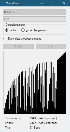 Visual Sort 0.2.0.5 (Screenshot)