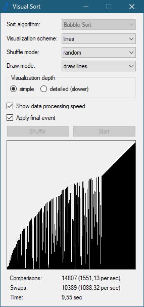Visual Sort 0.4.0.8 (Screenshot)