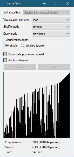 Visual Sort 0.5.0.9 (Screenshot)