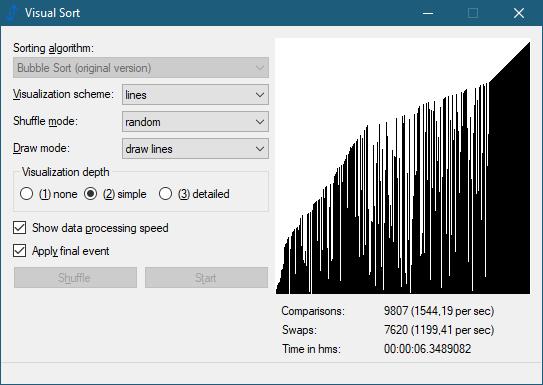 Visual Sort 0.6.0.11 (Screenshot)