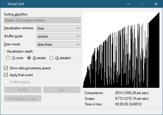 Visual Sort 0.7.0.12 (Screenshot)
