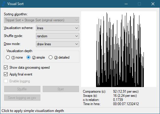 Visual Sort 0.8.0.13 (Screenshot)