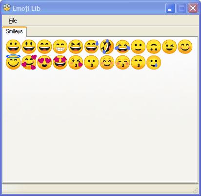 Emoji Lib 0.2.0.3 (Screenshot)