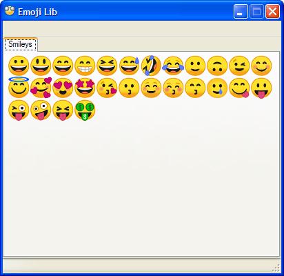 Emoji Lib 0.2.1.4 (Screenshot)