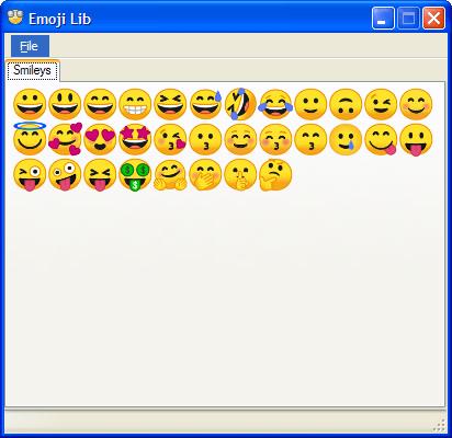 Emoji Lib 0.2.2.5 (Screenshot)